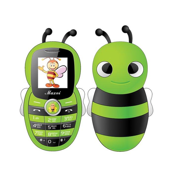 Сотовый телефон Maxvi J8 Green maxvi k10