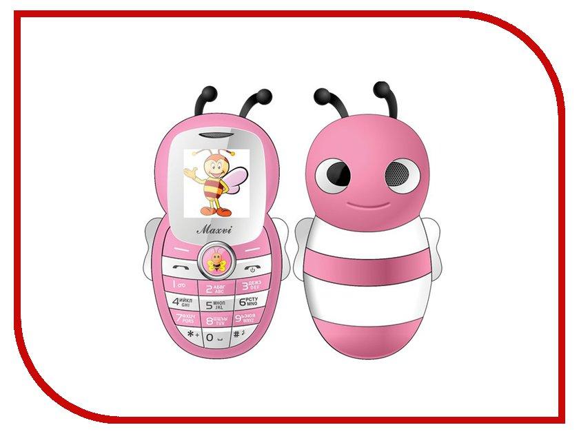 Сотовый телефон Maxvi J8 Pink сотовый телефон maxvi c20 blue