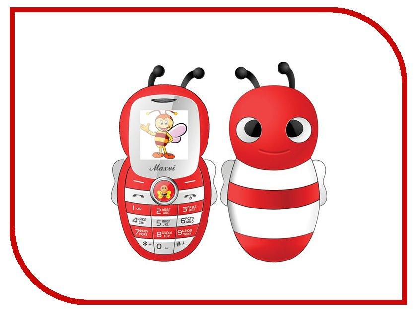 Zakazat.ru: Сотовый телефон Maxvi J8 Red