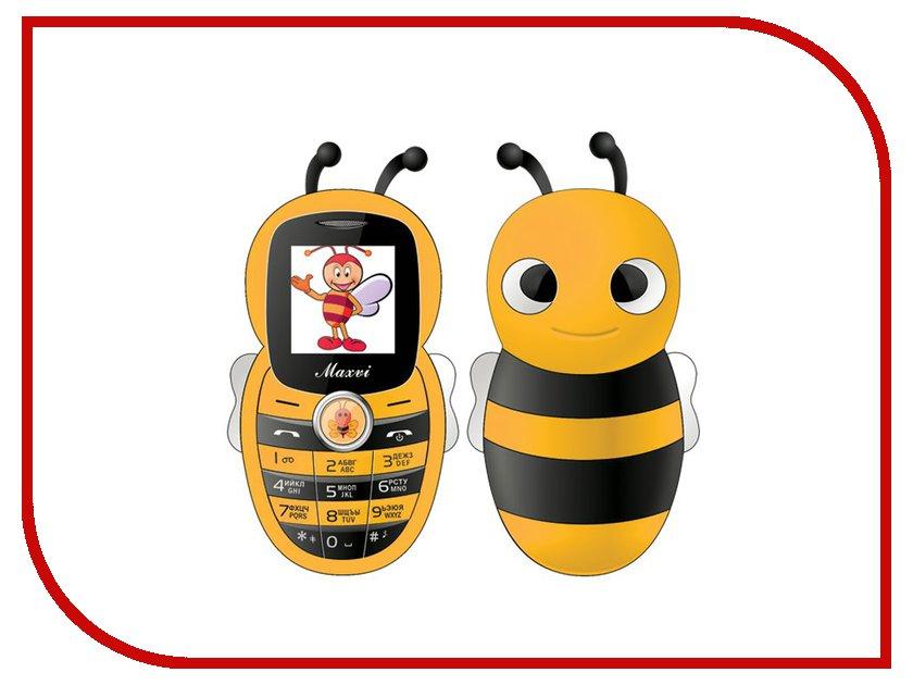 Сотовый телефон Maxvi J8 Yellow сотовый