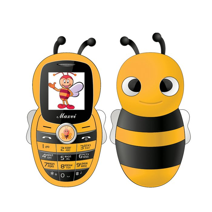 Сотовый телефон Maxvi J8 Yellow сотовый телефон maxvi b1 red
