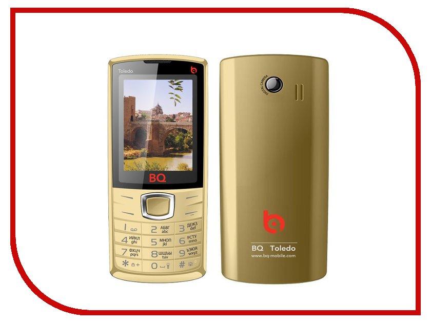 Сотовый телефон BQ BQM-2406 Toledo Gold