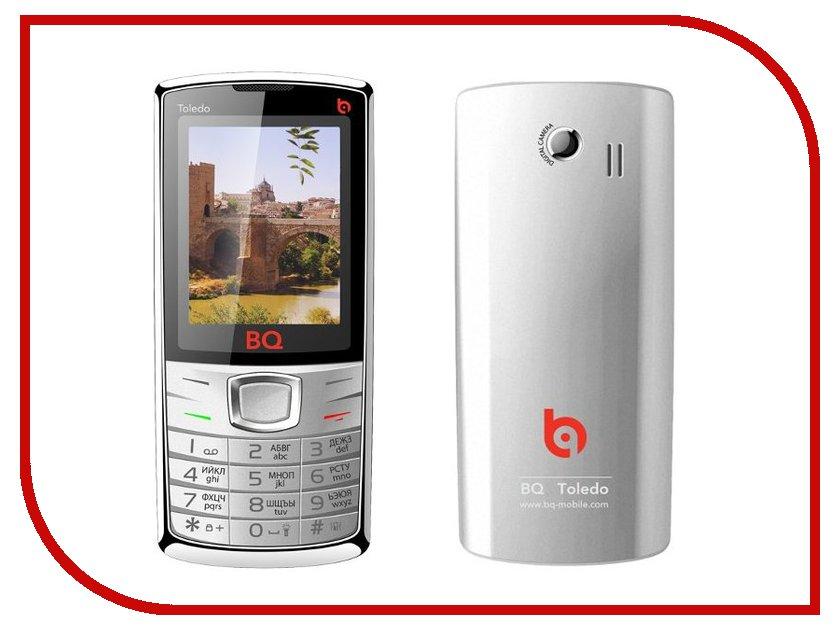 Сотовый телефон BQ BQM-2406 Toledo Silver