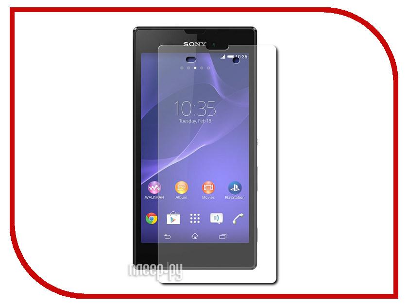 Аксессуар Защитная пленка Sony Xperia T3 Aksberry прозрачная benjie t3