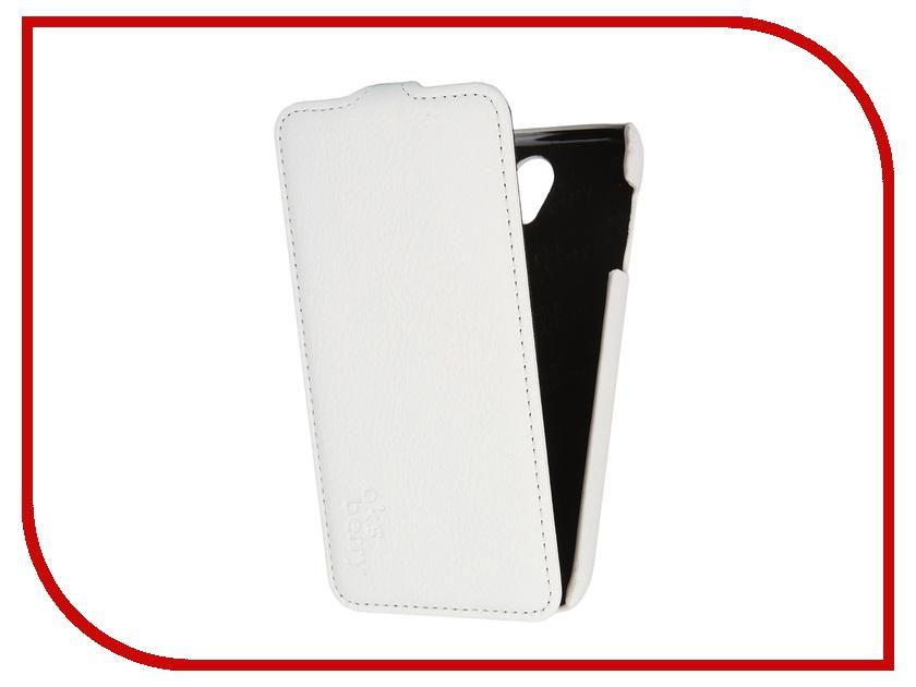 Аксессуар Чехол Lenovo A859 Aksberry White аксессуар чехол lenovo a5000 aksberry black