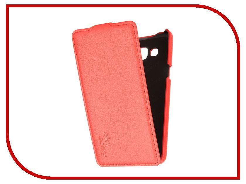 Аксессуар Чехол Samsung SM-A500 Galaxy A5 Aksberry Red<br>