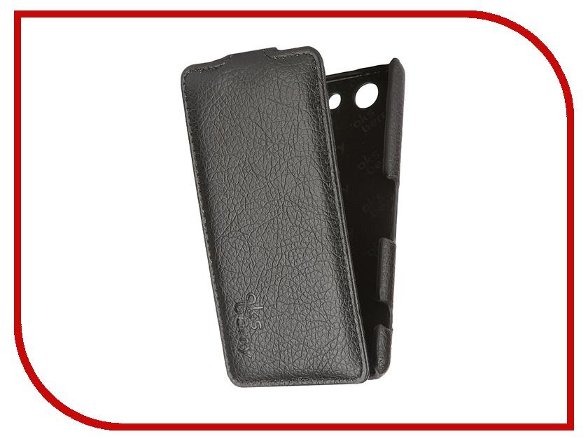 все цены на Аксессуар Чехол Sony Xperia Z3 mini/Compact Aksberry Black онлайн