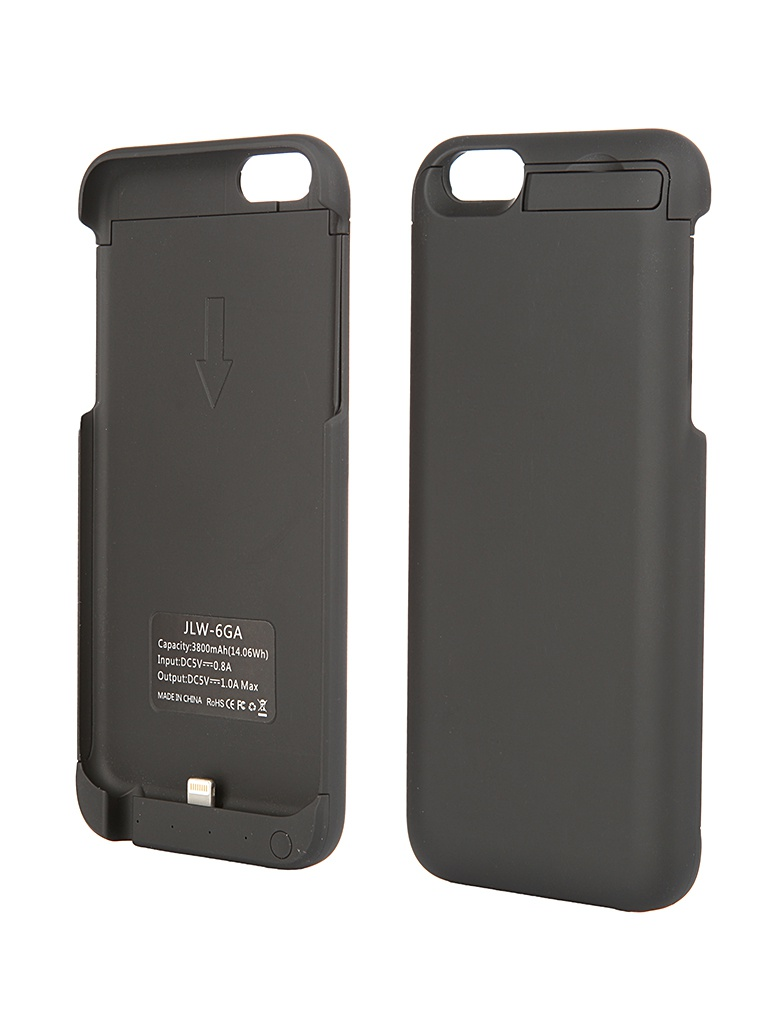 Аксессуар Чехол-аккумулятор Aksberry 6GA 3800 mAh for iPhone 6 Black