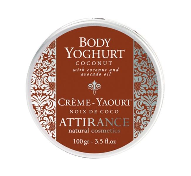 Средство для ухода за телом Attirance Кокос йогурт 100 гр