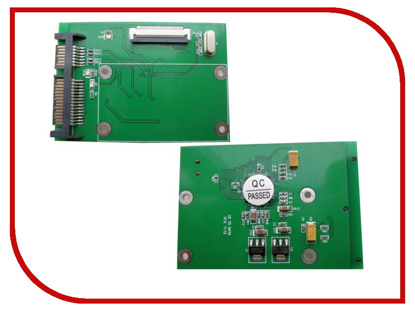 Контроллер Espada ZIF to SATA ST4071