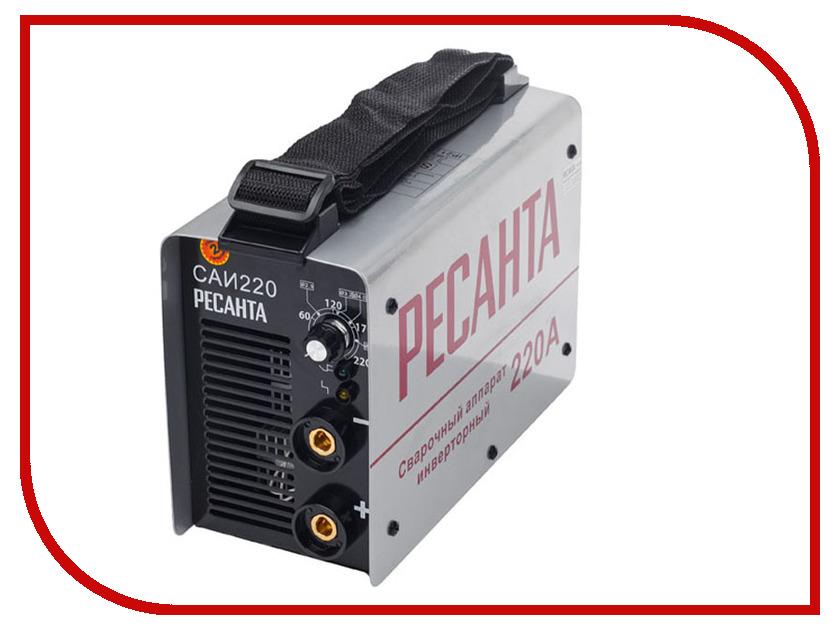 Сварочный аппарат Ресанта САИ 220 в кейсе