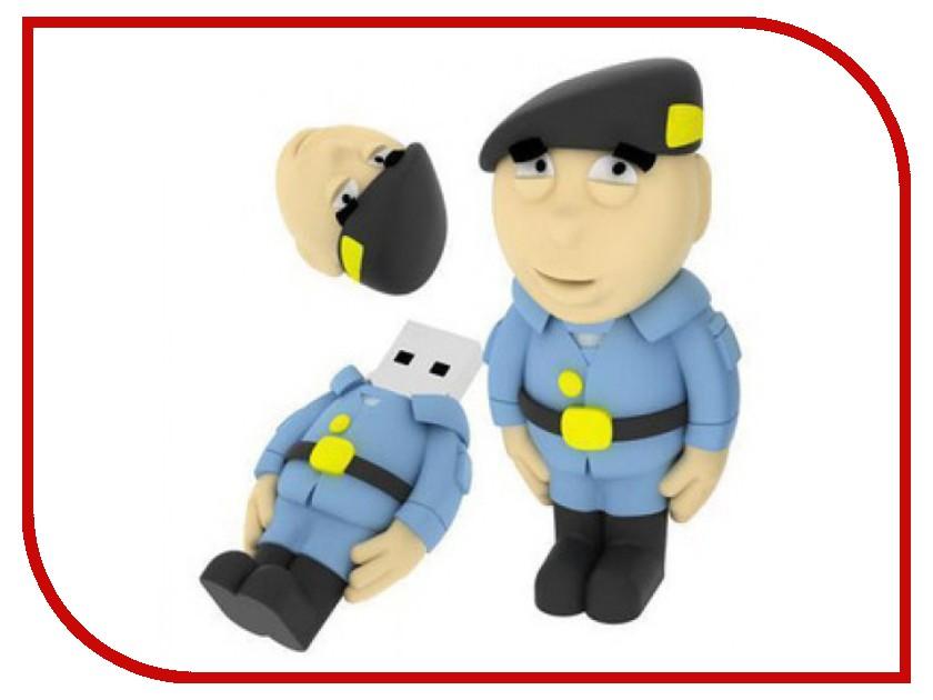 USB Flash Drive 2Gb - Iconik Полицейский RB-SOLDP-2GB<br>