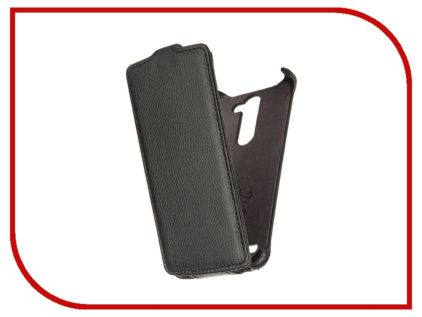 Аксессуар Чехол LG L Bello Partner Flip-case Black ПР032146 mooncase slim leather side flip wallet card slot pouch with kickstand shell back чехол для lg l bello d331 d335 red