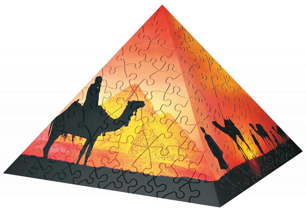 3D-пазл Ravensburger Пирамида Восход Солнца в пустыне 11460<br>