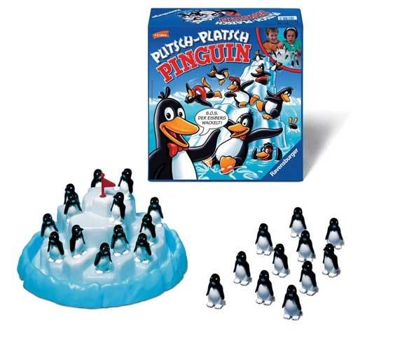 Настольная игра Ravensburger Пингвины на льдине 22080 цена