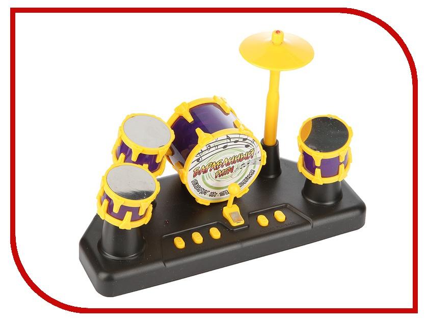 Гаджет Shantou Gepai Барабанная установка сенсорная пальчиковая Yellow-Purple ZYB-B1554-1<br>