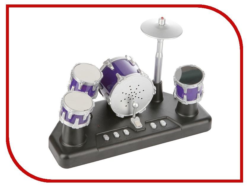 Гаджет Shantou Gepai Барабанная установка сенсорная пальчиковая Metallic ZYB-B1554-2<br>