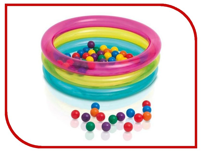 Детский бассейн Intex Малышок 48674