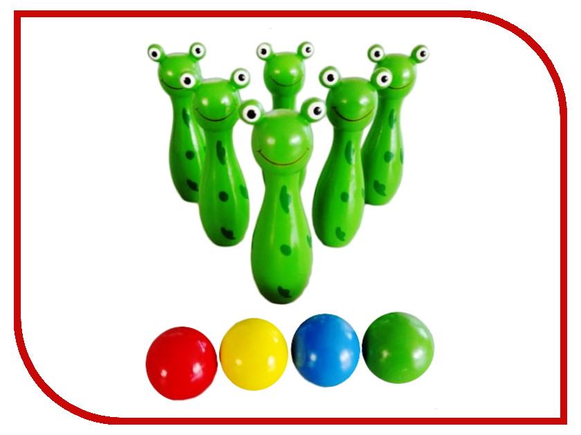 Игра Mapacha Боулинг забавные лягушата 76416