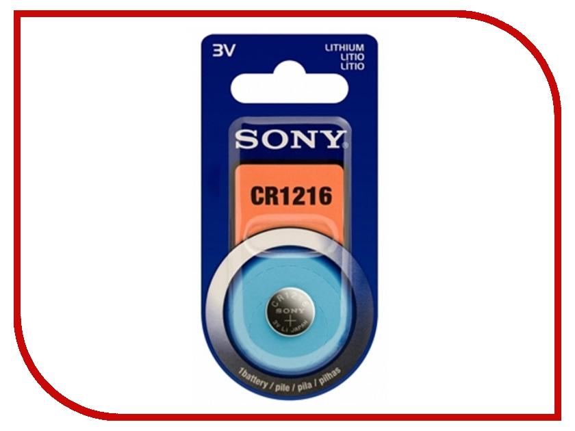 Батарейка Sony CR1216 BL5 (1 штука)<br>