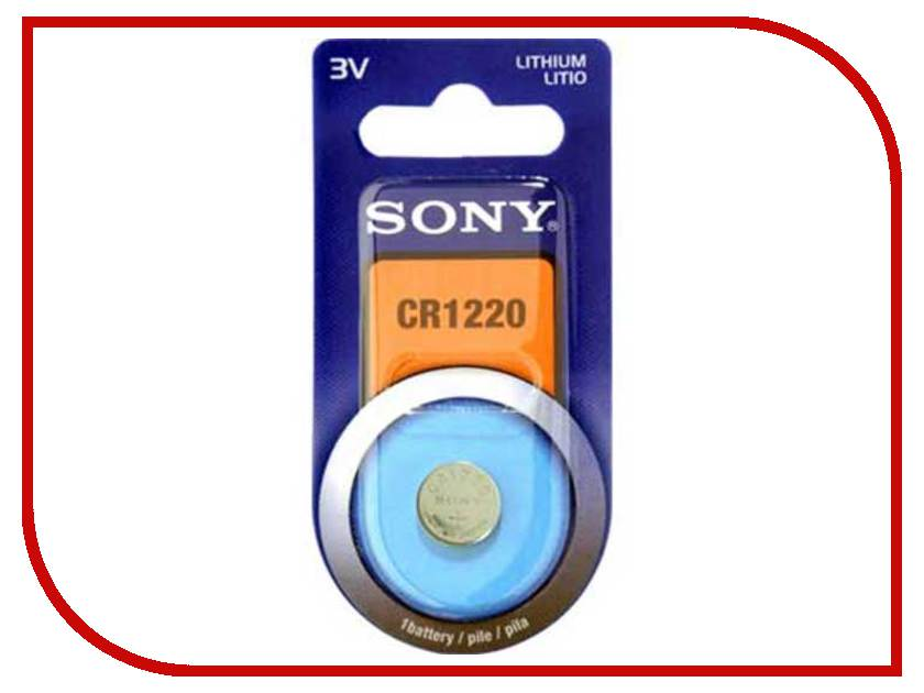 Батарейка Sony CR1220 BL5 (1 штука)