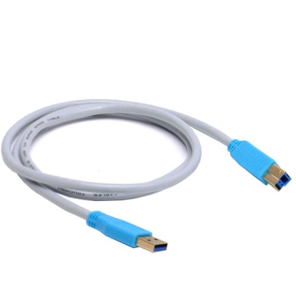 Аксессуар Vention USB 3.0 AM - BM 2m VAS-B01-S200