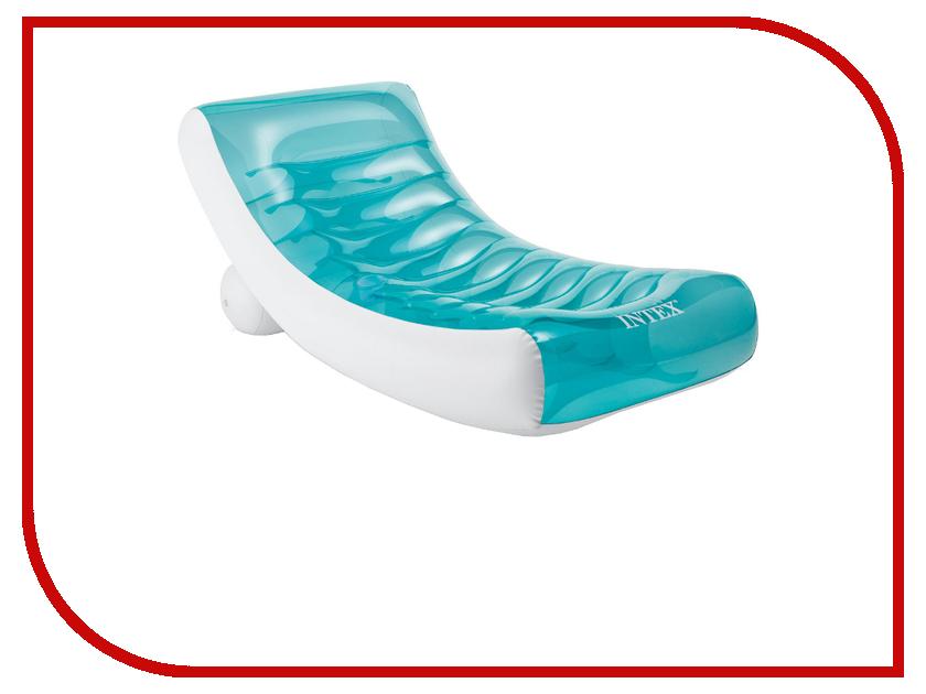 Надувное кресло Intex 58856 кресло надувное intex beanless bag 68569