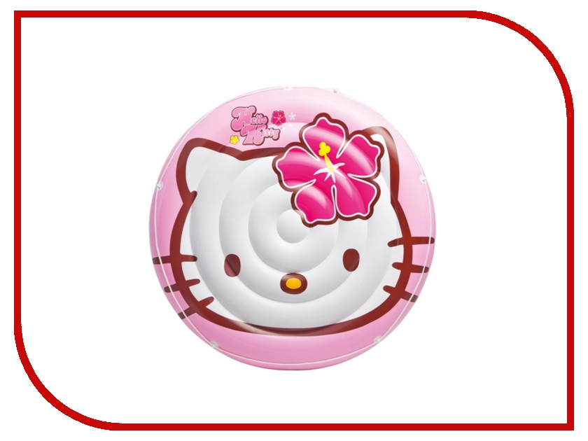 Надувная игрушка Intex Плот Остров Hello Kitty 56513