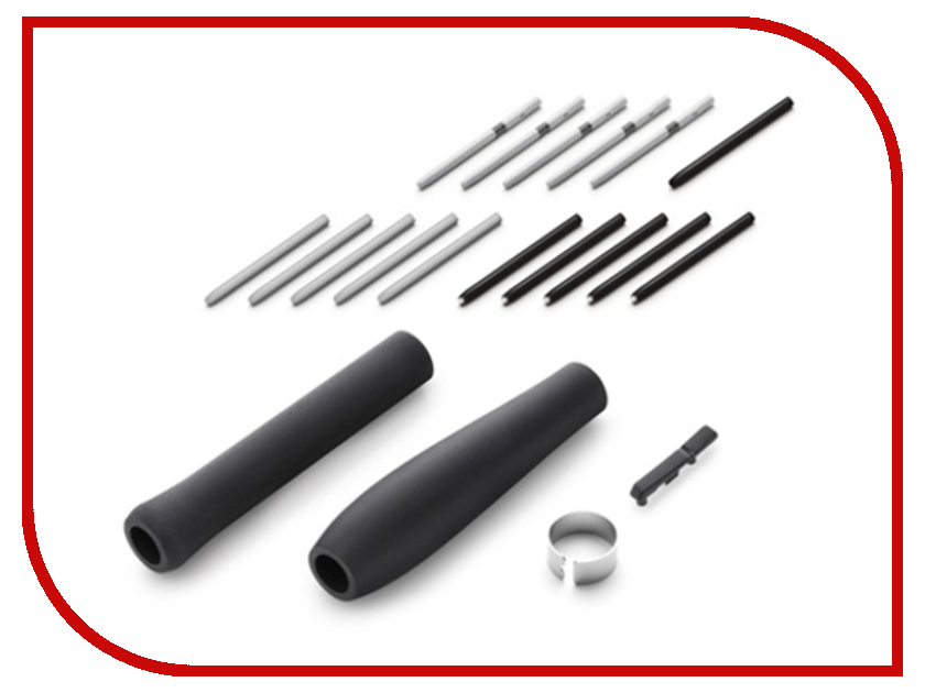 Аксессуар Набор наконечников и накладок Wacom Grip Pen ACK-40001 for Intuos4/5/Pro аксессуар baby care набор светоотражающих накладок для коляски 2шт white