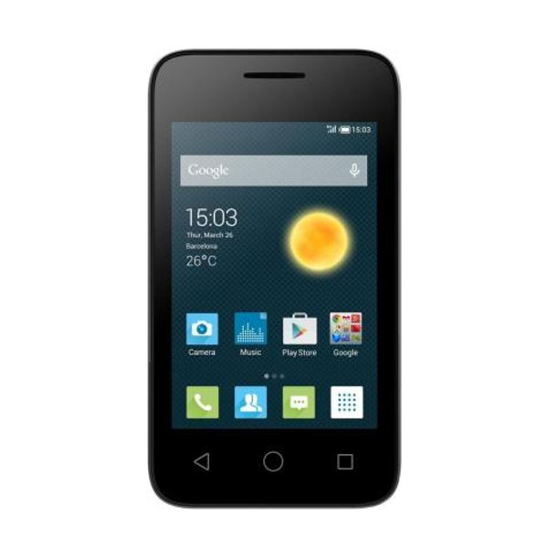 Сотовый телефон Alcatel OneTouch 4013D PIXI 3 (4) Volcano Black