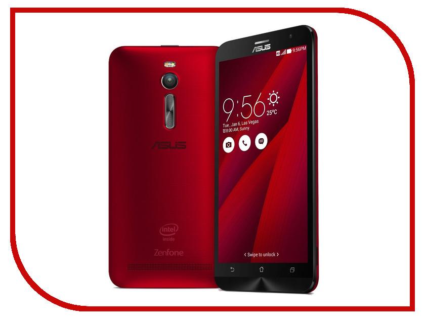 Сотовый телефон ASUS ZenFone 2 ZE551ML 4Gb RAM 32Gb Red<br>