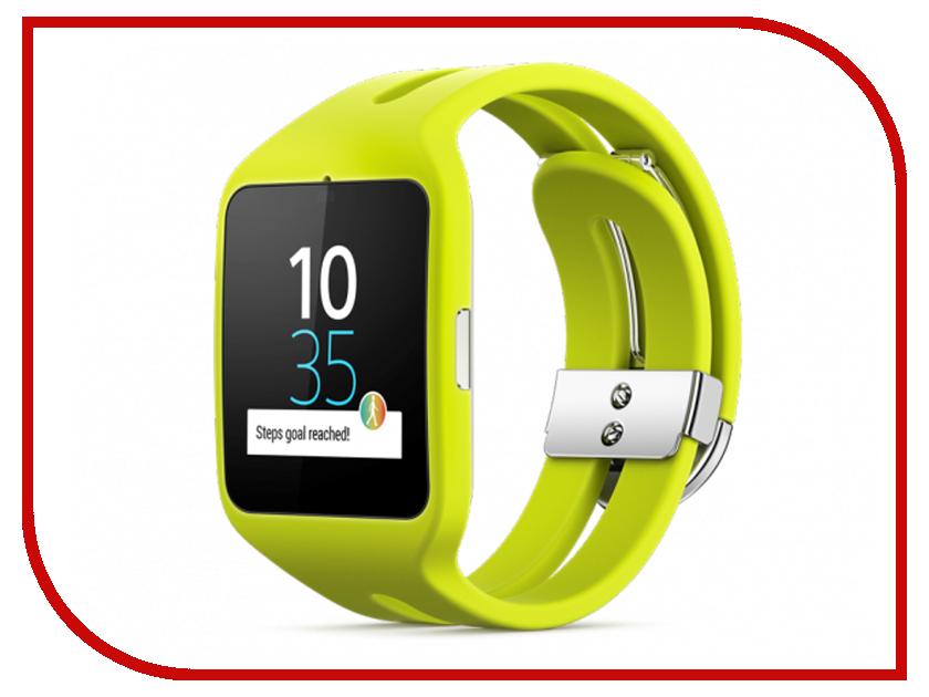 Умные часы Sony SmartWatch 3 SWR50 Silicone Strap Lime<br>