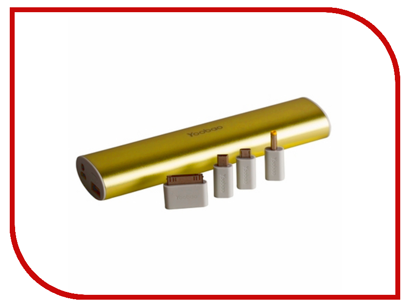 Аккумулятор Yoobao YB-6014 PRO 10400mAh Gold аксессуар yoobao usb type c microusb lightning yb 453 gold