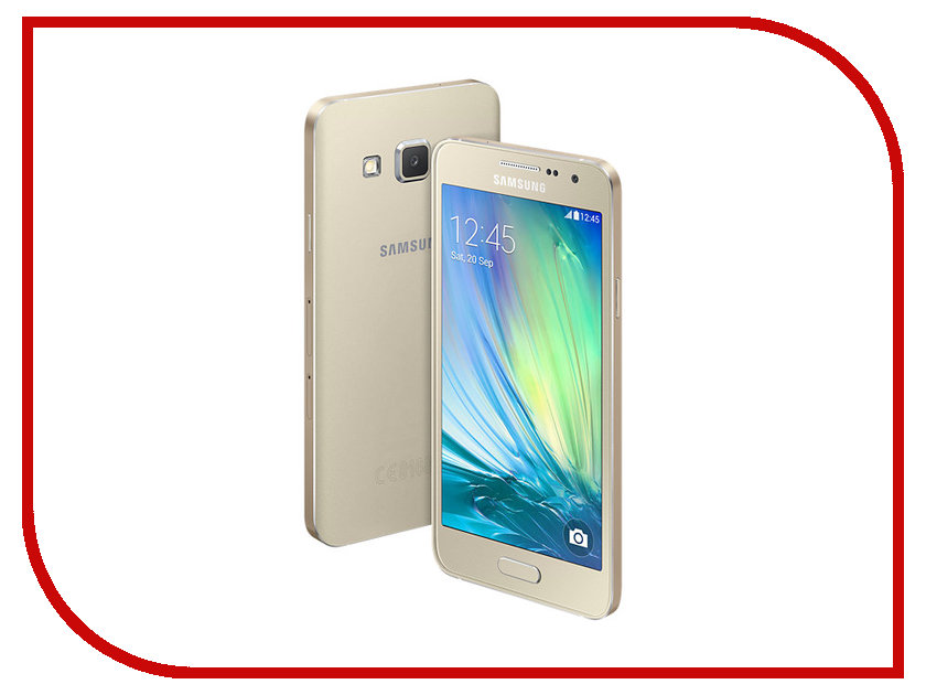 Сотовый телефон Samsung SM-A300F/DS Galaxy A3 Duos Gold<br>