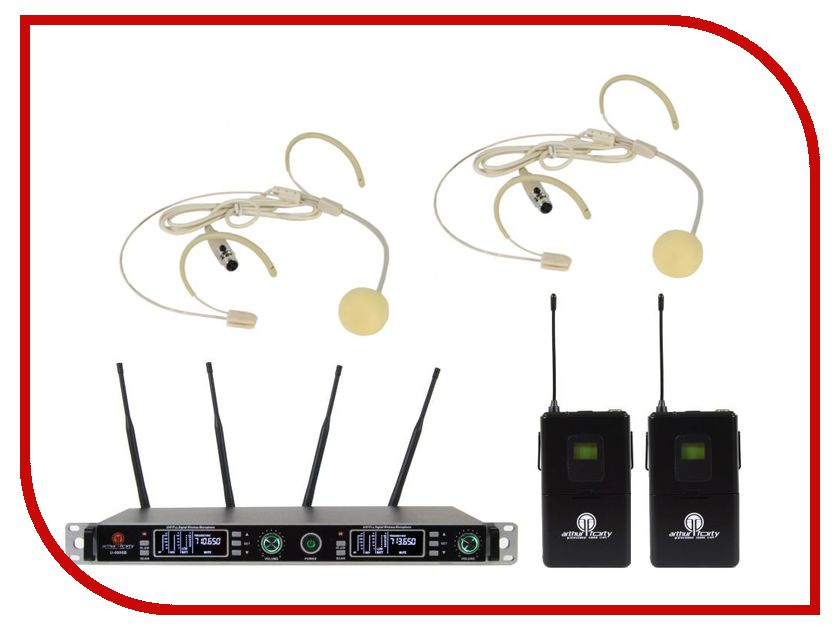 Радиосистема Arthur Forty PSC UHF U-9900B радиосистема eco by volta u 1h 505 75