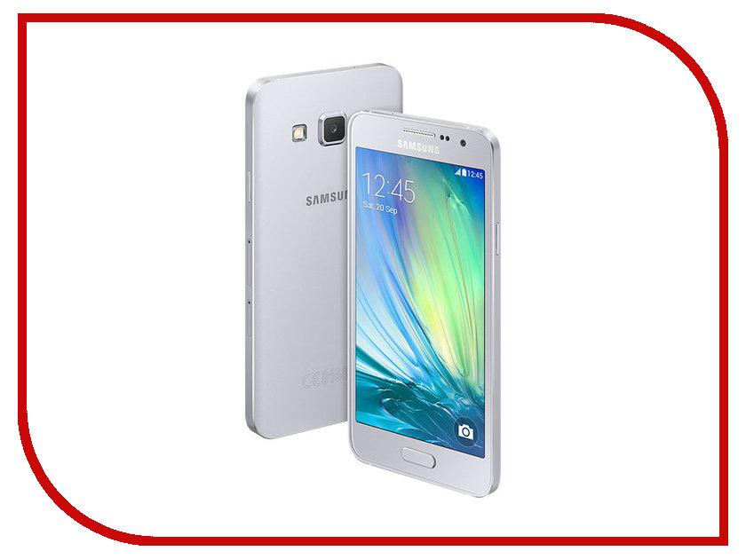 Сотовый телефон Samsung SM-A300F/DS Galaxy A3 Duos Silver<br>