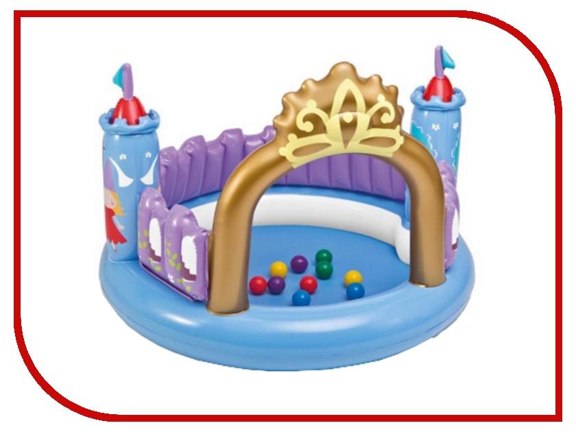 Игровой центр Intex Волшебный замок 48669 кровать comfort plush 152х203х56см со встроенным насосом 220в intex 64418