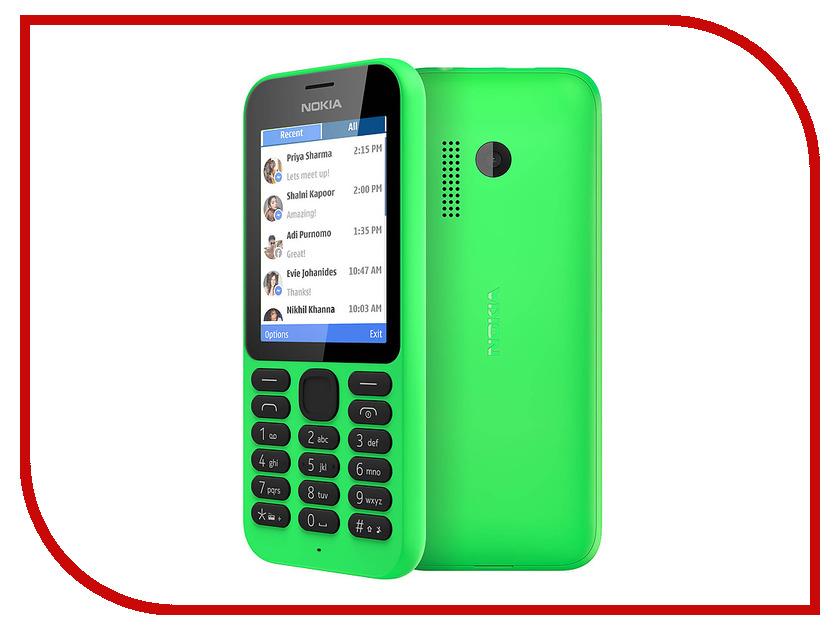 Сотовый телефон Nokia 215 Dual Sim Green