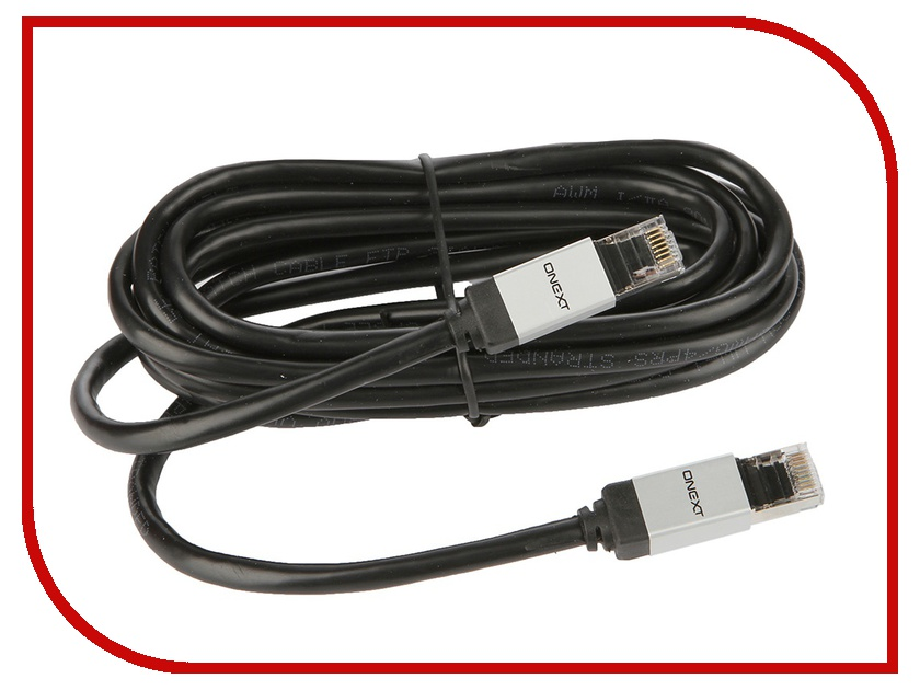 Аксессуар Onext Ethernet RJ45/M cat.5e 3m 60802