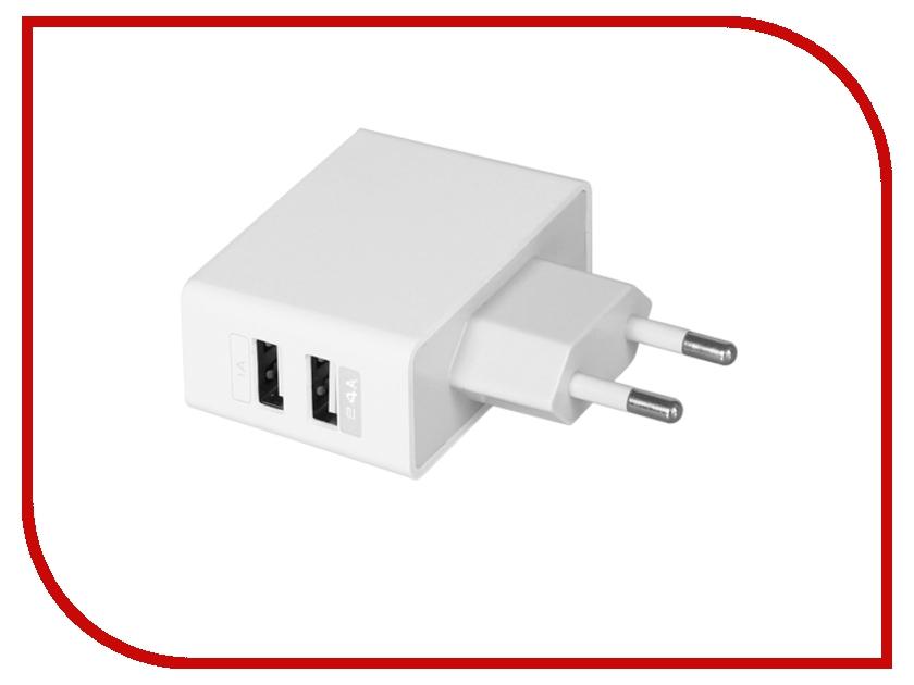 Зарядное устройство Ainy 2xUSB 1A/2.4A EA-033B<br>
