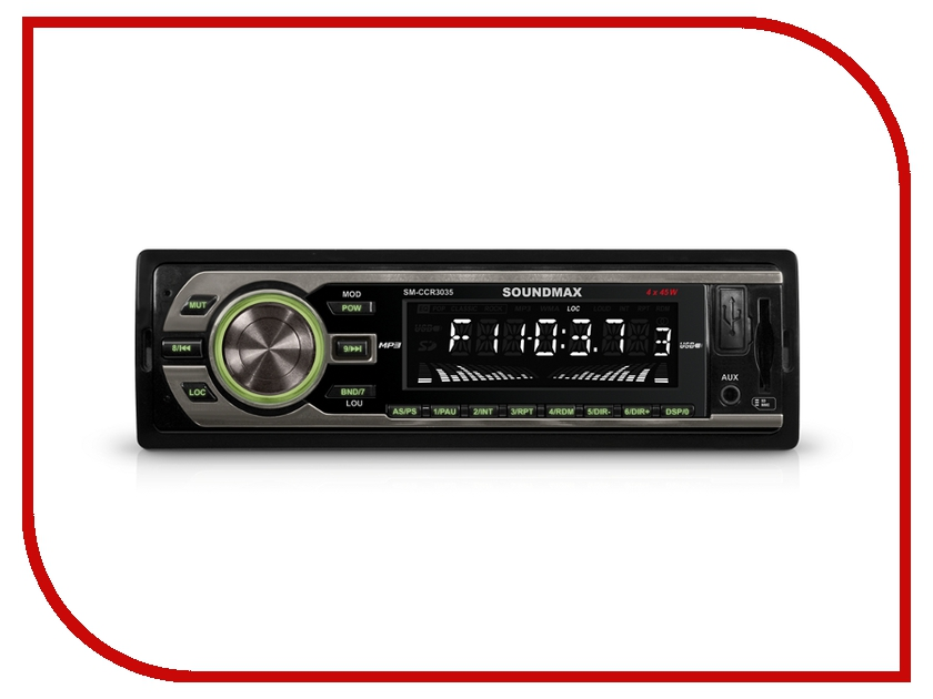 Автомагнитола Soundmax SM-CCR3035автомагнитолы<br><br>
