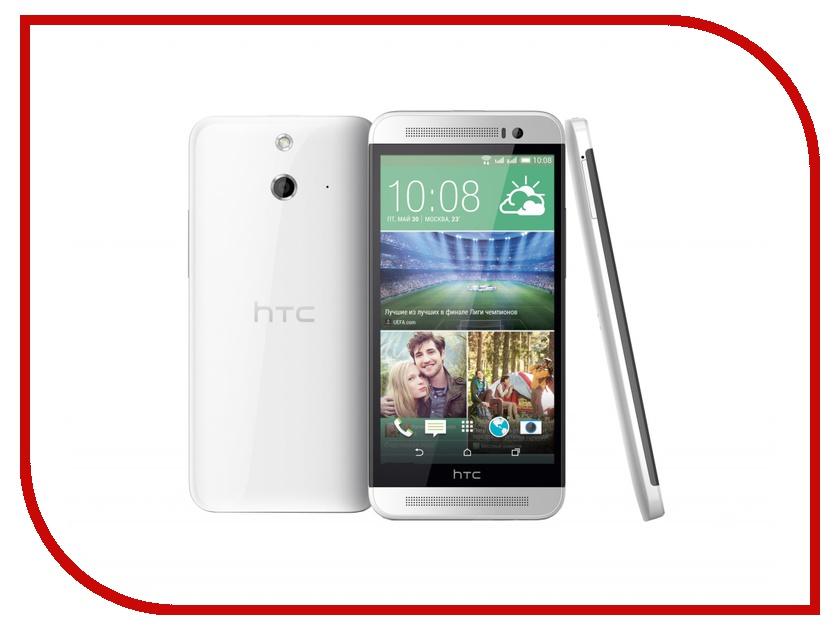 Сотовый телефон HTC One E8 Dual Sim White<br>