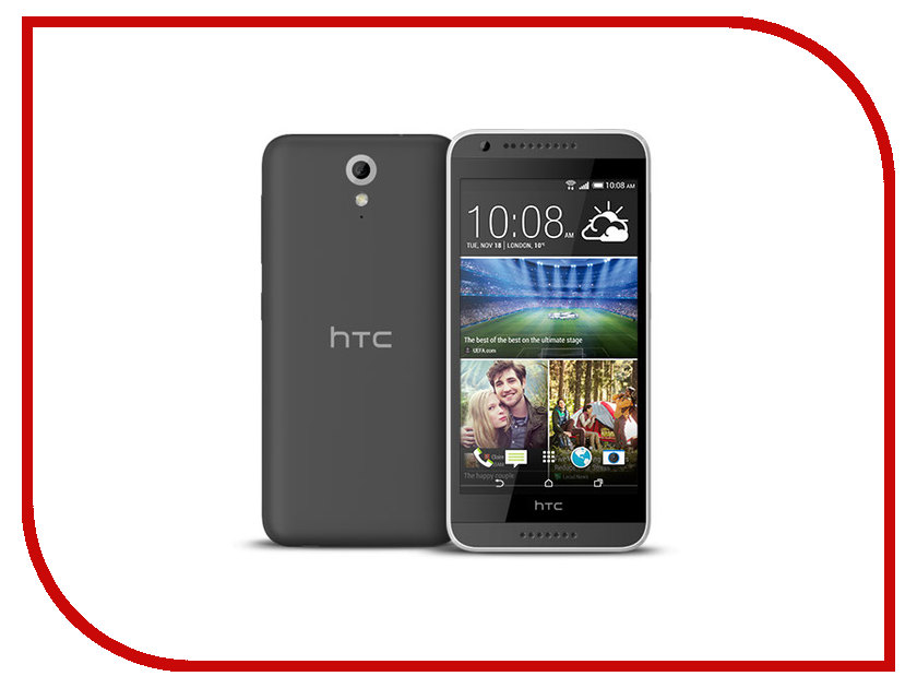 Сотовый телефон HTC Desire 620G Matt Light Gray-Gray<br>