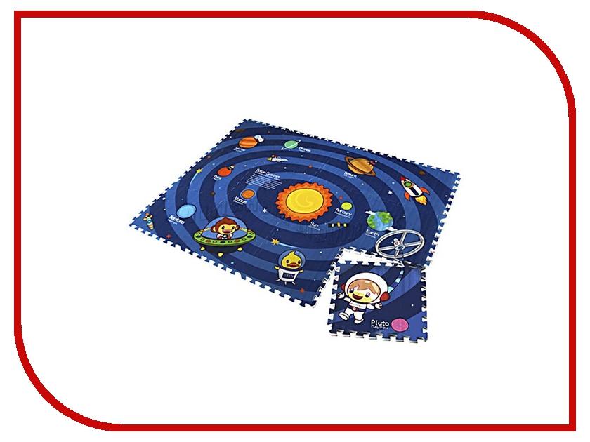 Развивающий коврик Mambobaby Солнечная система двухсторонний 71104 игровые коврики mambobaby развивающий коврик морские жители односторонний 200х180х0 5см