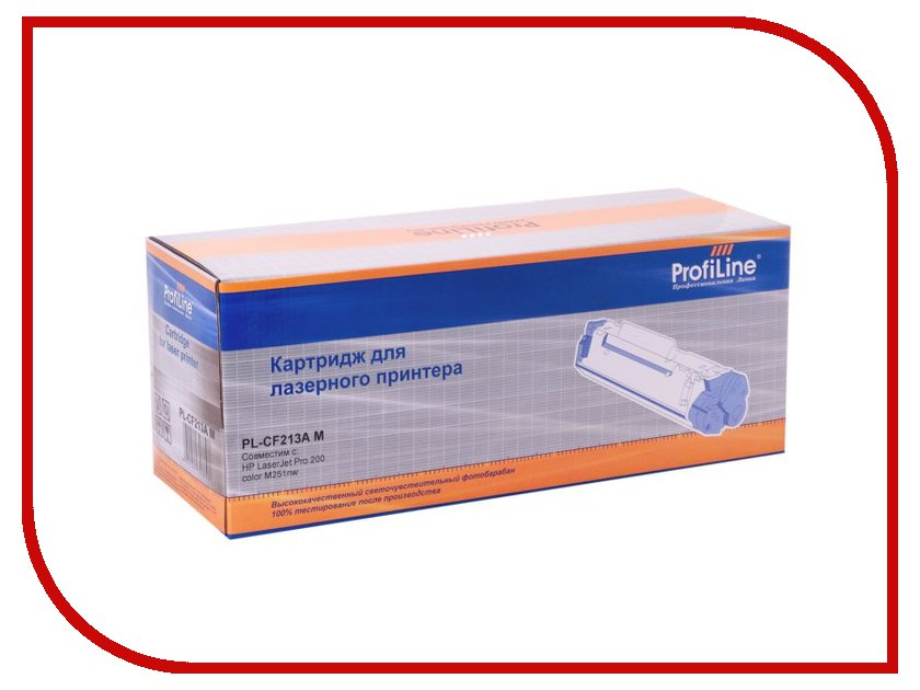 Картридж ProfiLine PL-CF213A (131A)/731 for HP 200 Color M251/276/Canon LBP7110CW/LBP7100CN/MF8280CW/MF8250CN/MF8230CN/MF8210CN Magenta<br>