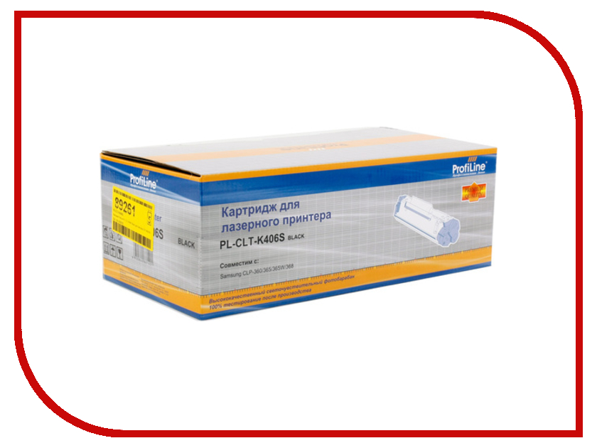 Картридж ProfiLine PL-CLT-K406S for Samsung CLP-360/362/363/364/365/365W/366/366w/367W/368/410/460/CLX-3300/3302/3303/3303FW/3304/3305/3305W/3305FW/3305FN/3306W/3306FW/3306FN/3307W/3307FW Black 5x toner refill kit compatible for samsung clp360 clp 360 clp 360n clp 365n clp 365w clp 366 clp 366w clt 406s clt k406s
