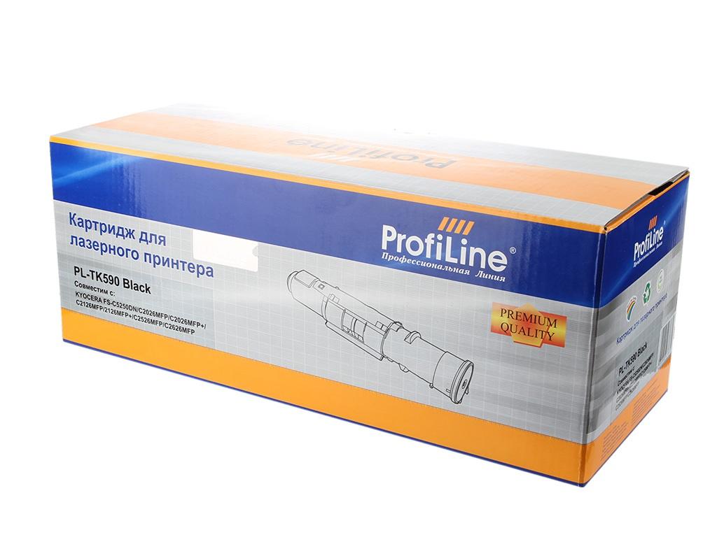 Аксессуар ProfiLine PL-TK-590K for Kyocera FS-C5250DN/C2026MFP/C2026MFP+/C2126MFP/C2126MFP/C2526MFP+/C2626MFP/P6026cdn/M6026cdn/M6026cidn/M6526cdn/M6526cidn Bl