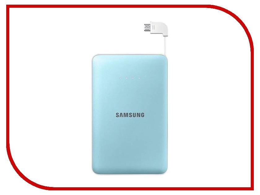 все цены на Аккумулятор Samsung microUSB 8400mAh Light Blue SAM-EB-PG850BLRGRU онлайн