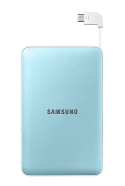 Аккумулятор Samsung microUSB 8400 mAh Light Blue SAM-EB-PG850BLRGRU