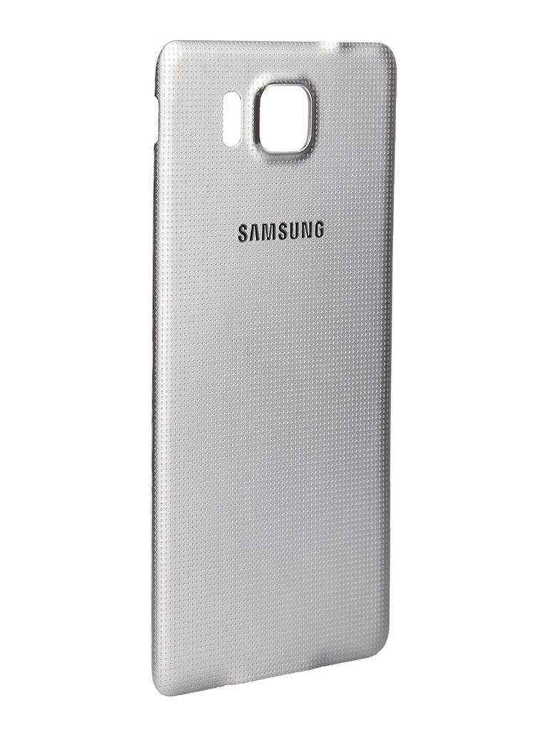 Аксессуар Крышка задняя Samsung SM-G850 Galaxy Alpha BackCover Silver EF-OG850SSEGRU